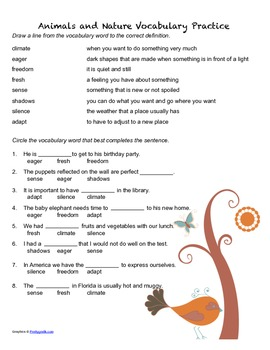 McGraw Hill Reading Wonders © 2nd Grade Unit 2 Worksheet Set