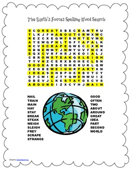 McGraw Hill Reading Wonders © 2nd Grade Unit 3 Week 1 Spelling Word Search