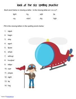 McGraw Hill Reading Wonders © 2nd Grade Unit 3 Week 2 Spelling Practice