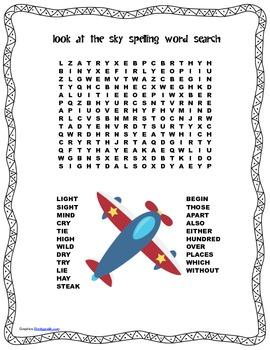 McGraw Hill Reading Wonders © 2nd Grade Unit 3 Week 2 Spelling Word Search