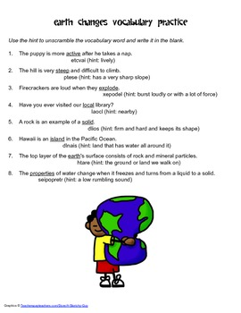 McGraw Hill Reading Wonders © 2nd Grade Unit 4 Week 2 Vocabulary Practice