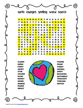 McGraw Hill Reading Wonders © 2nd Grade Unit 4 Week 2 Spelling Word Search