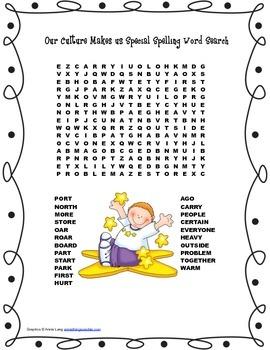 McGraw Hill Reading Wonders © 2nd Grade Unit 4 Week 3 Spel
