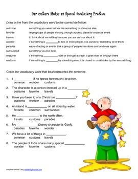 McGraw Hill Reading Wonders © 2nd Grade Unit 4 Week 3 Worksheet Set