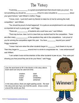 McGraw Hill Reading Wonders © 2nd Grade Unit 4 Week 4 Voca