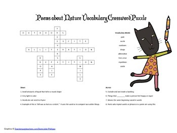 McGraw Hill Reading Wonders © 2nd Grade Unit 4 Week 5 Crossword Puzzle