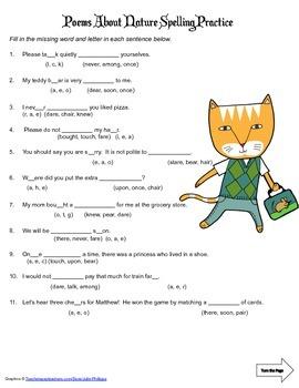 McGraw Hill Reading Wonders © 2nd Grade Unit 4 Week 5 Spelling Practice