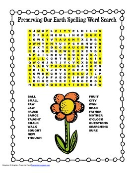 McGraw Hill Reading Wonders © 2nd Grade Unit 5 Week 4 Spelling Word Search