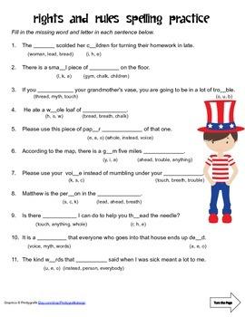 McGraw Hill Reading Wonders © 2nd Grade Unit 5 Week 5 Spelling Practice
