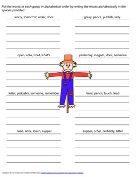McGraw Hill Reading Wonders © 2nd Grade Unit 6 Week 1 Spelling Practice