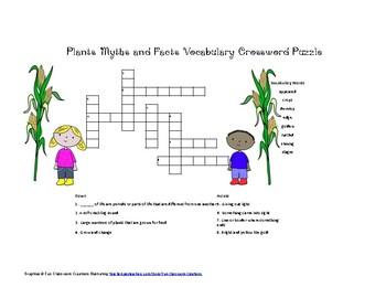 McGraw Hill Reading Wonders © 2nd Grade Unit 6 Week 1 Vocab Crossword Puzzle