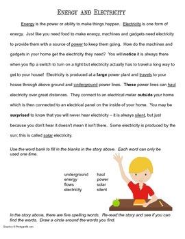 McGraw Hill Reading Wonders © 2nd Grade Unit 6 Week 2 Vocabulary Passage