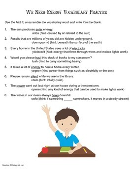 McGraw Hill Reading Wonders © 2nd Grade Unit 6 Week 2 Vocabulary Practice