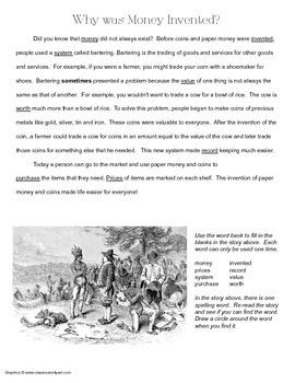 McGraw Hill Reading Wonders © 2nd Grade Unit 6 Week 4 Vocabulary Passage