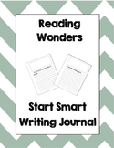 McGraw Hill Reading Wonders 2nd Grade Writing Journal Start Smart