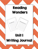 McGraw Hill Reading Wonders 2nd Grade Writing Journal Unit 1