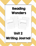 McGraw Hill Reading Wonders 2nd Grade Writing Journal Unit 2