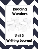 McGraw Hill Reading Wonders 2nd Grade Writing Journal Unit 3
