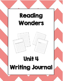 McGraw Hill Reading Wonders 2nd Grade Writing Journal Unit 4