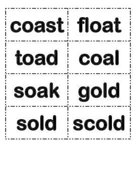 McGraw-Hill Reading Wonders 3rd Grade Spellings Word Cards for Unit 1