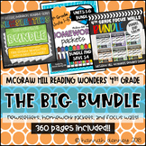 4th Grade Wonders Reading Series Big Bundle