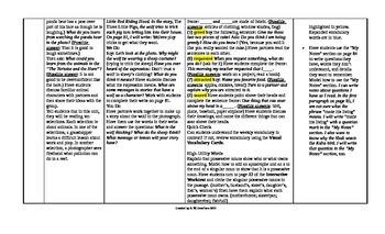 McGraw-Hill Reading Wonders 4th Grade UNIT 2 Intervention Wonderworks Plans