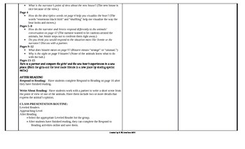 McGraw-Hill Reading Wonders 4th Grade UNIT 3 Approaching Small Group Plans