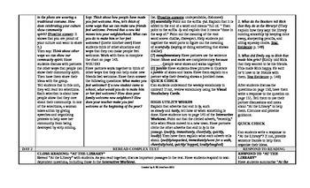 McGraw-Hill Reading Wonders 4th Grade UNIT 3 Intervention Wonderworks Plans