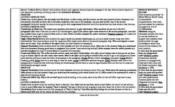 McGraw-Hill Reading Wonders 4th Grade UNIT 4 Intervention Wonderworks Plans