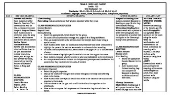 McGraw-Hill Reading Wonders 4th Grade UNIT 6 Beyond Small Group Plans