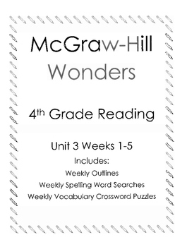 McGraw Hill Wonders Reading 4th grade Unit 3