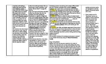 McGraw-Hill Reading Wonders 5th Grade UNIT 2 Intervention Wonderworks Plans