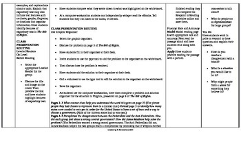 McGraw-Hill Reading Wonders 5th Grade UNIT 2 On Level Small Group Plans