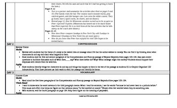 McGraw-Hill Reading Wonders 5th Grade UNIT 3 Beyond Small Group Plans