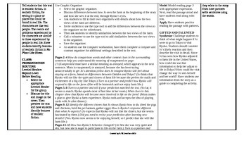 McGraw-Hill Reading Wonders 5th Grade UNIT 5 Beyond Small Group Plans