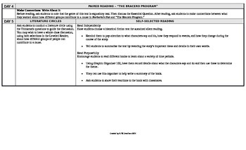 Reading Wonders 5th Grade UNIT 6 On Level Small Group Plans