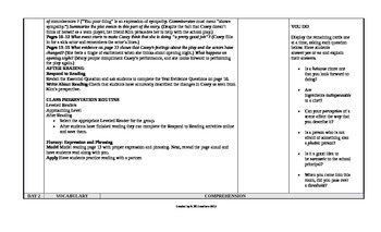 McGraw-Hill Reading Wonders 6th Grade UNIT 1 Approaching Small Group Plans