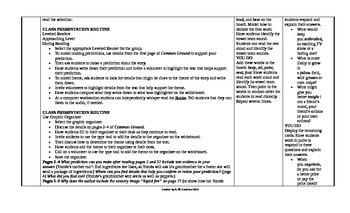 2014 McGraw-Hill  Reading Wonders 6th Grade UNIT 3 Approaching Small Group Plans