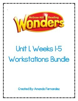 McGraw Hill Reading Wonders Complete Units 1-6 Workstation Bundle