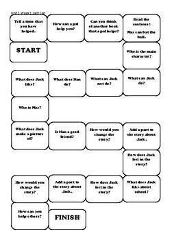 McGraw-Hill Reading Wonders Comprehension Game