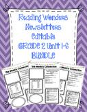 WONDERS EDITABLE 2nd grade Weekly Newsletter UNIT 1-6 BUNDLE