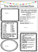 McGraw-Hill Reading Wonders EDITABLE 2nd grade Weekly Newsletter UNIT 5