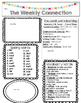 McGraw-Hill Reading Wonders EDITABLE 4th grade Weekly Newsletter UNIT 1
