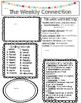 WONDERS EDITABLE 4th grade Weekly Newsletter UNIT 4