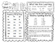 McGraw-Hill Reading Wonders First Grade Homework (Unit 1)