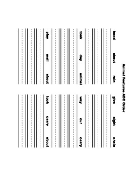 McGraw Hill Reading Wonders © 1st Grade Unit 4 Week 1 Worksheets