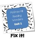McGraw Hill Reading Wonders Fix It!