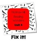 McGraw-Hill Reading Wonders Fix It! Unit 4