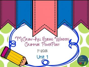Wonders GRAMMAR Unit 1 PowerPoints
