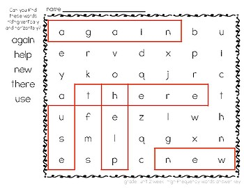 McGraw-Hill Reading Wonders Grade 1 Unit 2 Word Search Puzzles